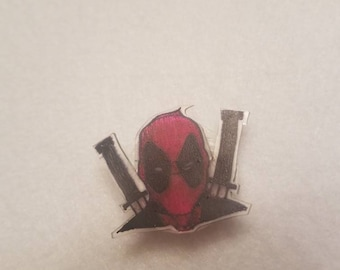 Deadpool inspired pin