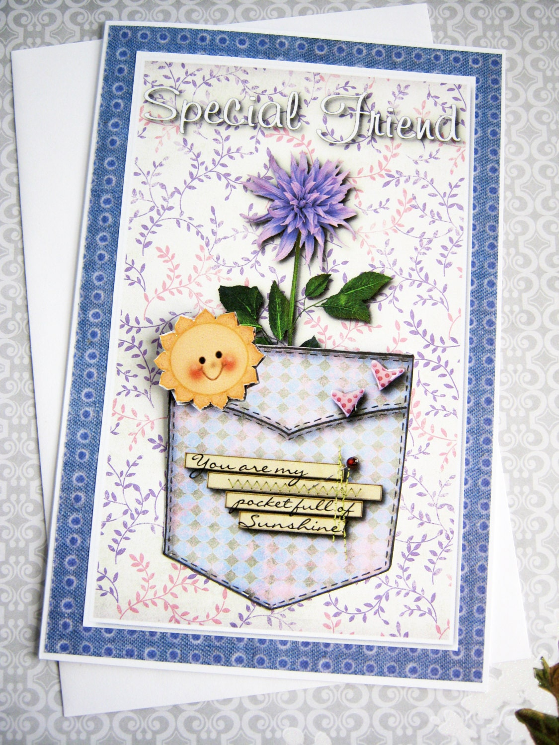 Friendship card best friends you are my pocket full of zoom m4hsunfo Images