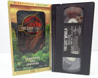 Jurassic Park The Lost World VHS Tape
