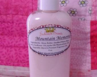 Mountain Memories Shea Butter Lotion