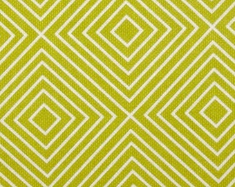 Patty Young for Michael Miller Diamonds in Lime - 1/2 yard