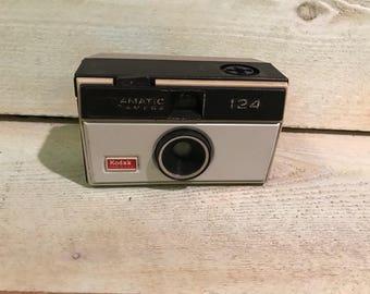 Kodak Instamatic Camera 124 Made in the USA Vintage Camera