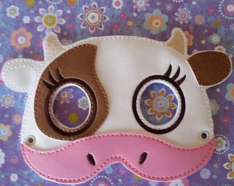 Child's Mask -  Cow