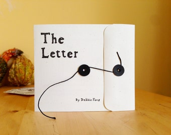 The Letter -  An Illustrated Hand-Crafted Zine
