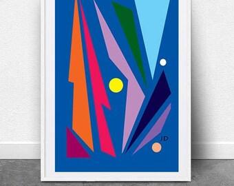 Autumn, Digital Download, Graphic Design Art, Modern Art, Abstract Art, Pop Art, Color Art, Wall Art, Printable Art, Wall Art,Fine Art Print