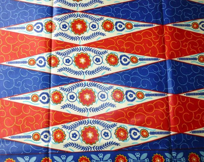 Java Block Wax Print Cotton Fabric For Dressmakings/Tribal Fabric Kitenge/Pagnes/ Chitenge/Tissues Africain/Kikwembe Sold By The Yards