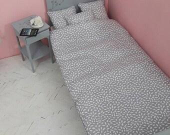 Bedset for 1/4 bed for BJD minifee MSD dolls, ellowynn wilde, Iplehouse JID
