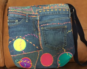 Happy jeans bag