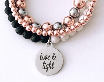 Love and Light Your choice of bracelet
