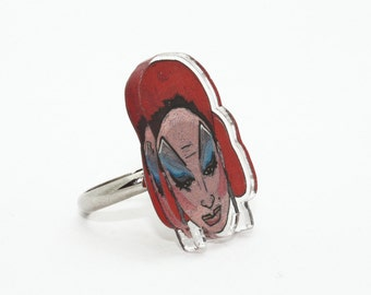 Divine Acrylic Ring with Box