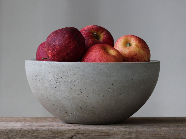 interesting ideas fruit bowl.  zoom Concrete Fruit Bowl 10