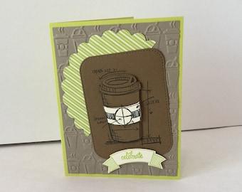 Coffee Celebrate Card