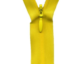 Yellow C510 Invisible zipper