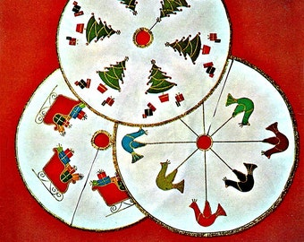 Snazzy Xmas Tree Skirt  -  Sewing Patterns