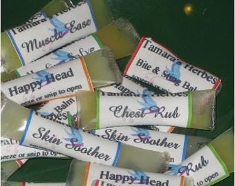 Herbal Salve Singles Sampler