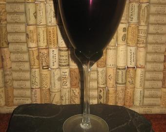 Large Purple Wine Glass