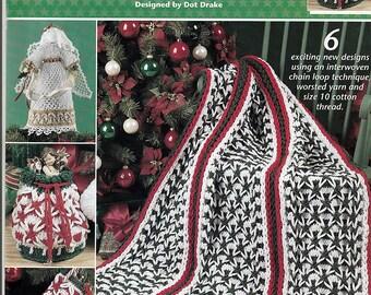 Polish star Christmas Crochet Pattern Book Annie's Attic 872816