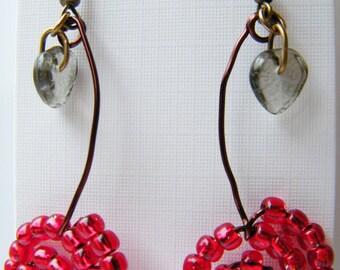 Funky Cherry earrings