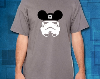 Star Wars Stormtrooper with Mickey Ears/Disney Shirts // Disney Family Shirts // Disney Vacation Shirts // Disney Cruise Shirts