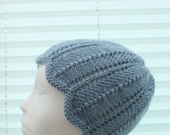 Instant download knitted ladies  beanie knitting pattern, Beanie, Cap UK & USA Terms KP428