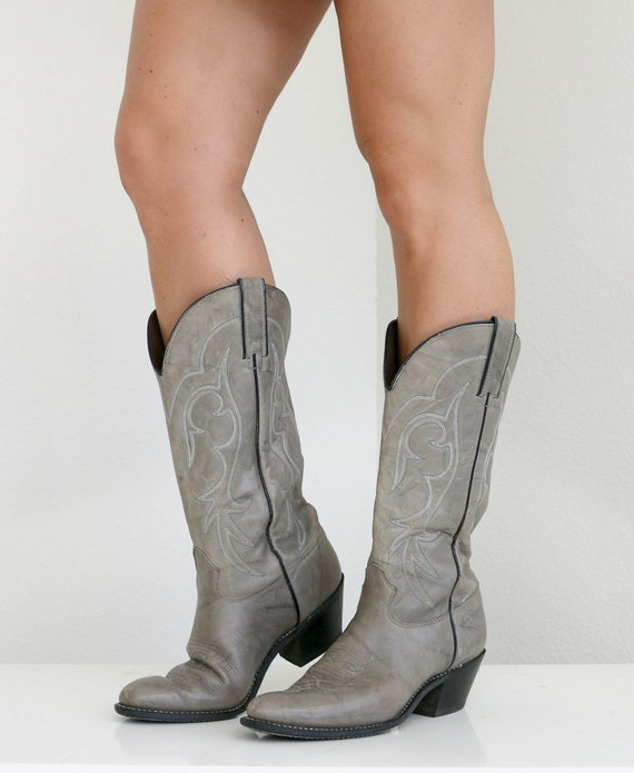7 5 8 Women's 1 Boots 1980s Kenny 2 Rogers 7 Size Smokey to xznfBqF