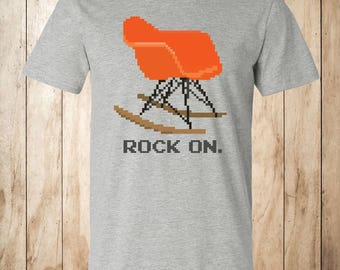 Bit-Century Modern - Rock On T-shirts