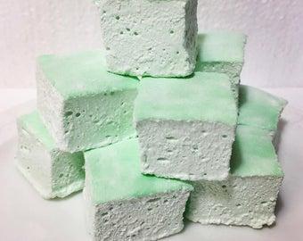 Mint Gourmet Marshmallows  - 16 Gourmet Handcrafted Marshmallows