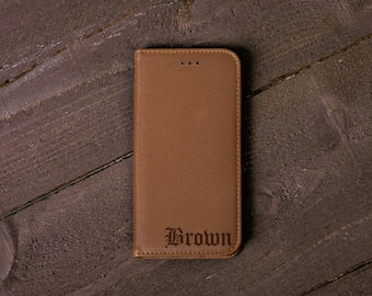 initial iphone 7 case leather