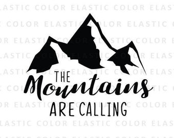 Mountains are Calling Coffee Cup