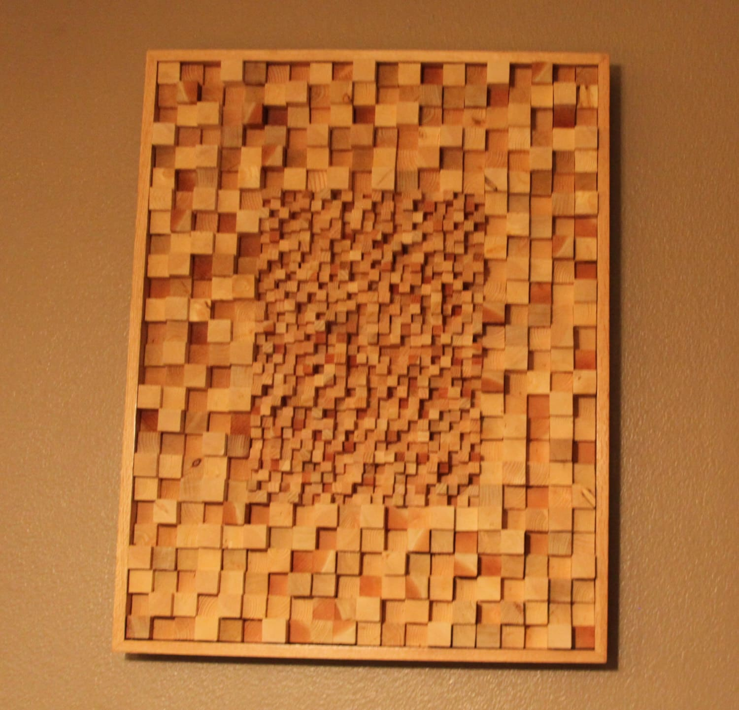Wood Block Wall The Walking Dead The Talking Dead Inspired Art Sculpture Home