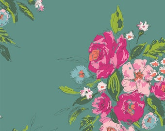 Art Gallery Fabrics, Extempore Fancy SGN-58700, SIGNATURE, Sharon Holland, Quilt Fabric, Cotton, Floral, Quilting, Pink, Fabric By the Yard