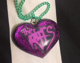 The Riffs Heart Necklace