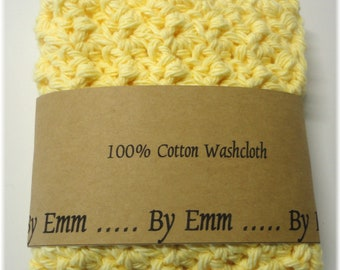 Cotton Face Cloth, Cotton Washcloth, Crochet Wash Cloth, Crochet Face Cloth, Cotton Washcloth, Exfoliating Face Cloth, Exfoliating Washcloth