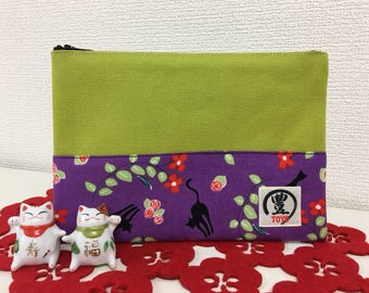 Purse with Japanese Design (Multi-Purpose)