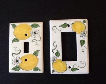 Lemon switchplates