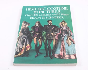 Historic Costume in Pictures - Braun and Schneider - Illustrations - Picture Book ~ The Pink Room ~ 160921A