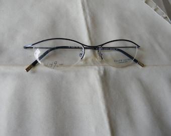 Vintage Polo Ralph Lauren Safilo Group Panto P3  Eyeglasses. NOS.Made in Italy.