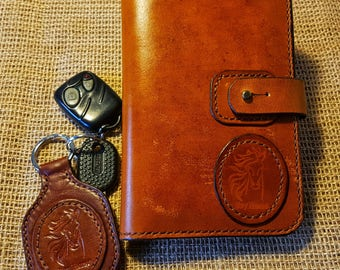 Leather Drivers Wallet. Leather Travel Wallet Organiser. Travel Wallet. Leather  Passport Holder. Brown Leather Wallet