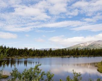 Pond Near Fraser, Canada
