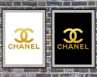 Fashion Wall Art Bedroom Decor Coco Chanel