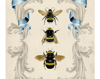 Bee's and Filigree I