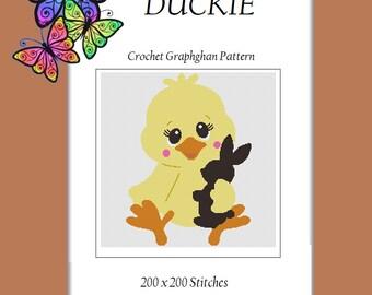 Duckie - Crochet Graphghan Pattern