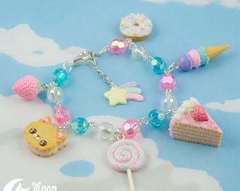 Süßigkeiten Mischung   Armband   Sweet Lolita Mode   Kawaii Bär   Süß