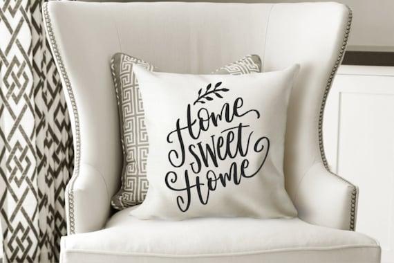 Farmhouse pillow home sweet home
