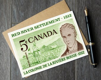 Manitoba teacher retirement cards, Manitoba history cards, Manitoba history poster, history teacher, Manitoba birthday, Red River Settlement
