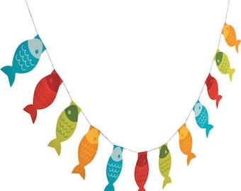 My Fishing Party  Banner / fish theme party / fishing theme / fisherman theme