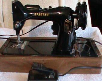 "Vintage singer SPARTAN Sewing Machine 1960 ""s"