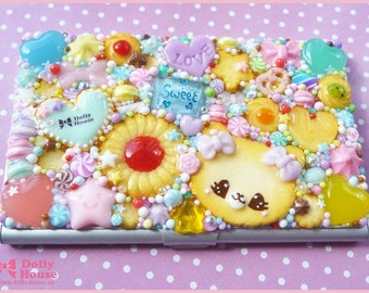 Kawaii Cookies Business or Credit Card Holder Case by Dolly House