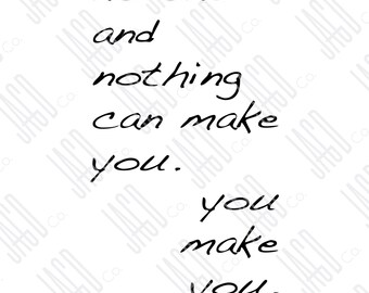 "You Make You Poster Print (11""x14"")"