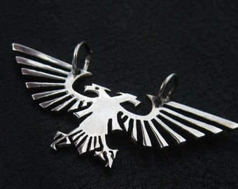 Silver Imperial Eagle pendant